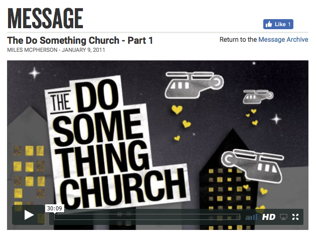 The Do Something Church 1